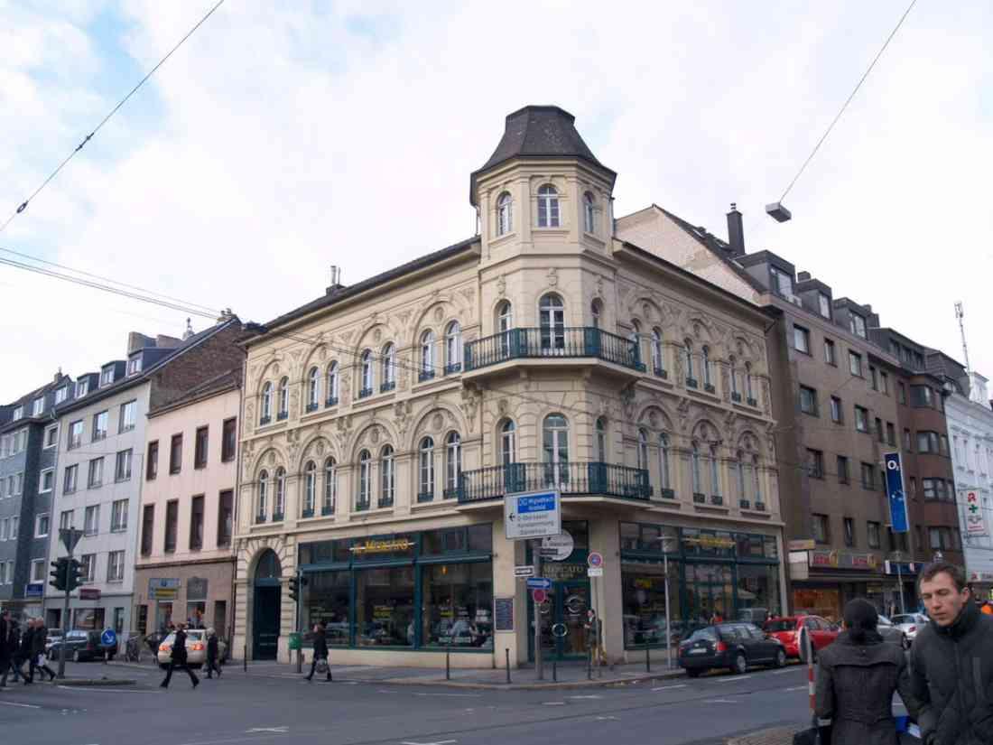 شارع فريدريكشتراسه دوسلدورف