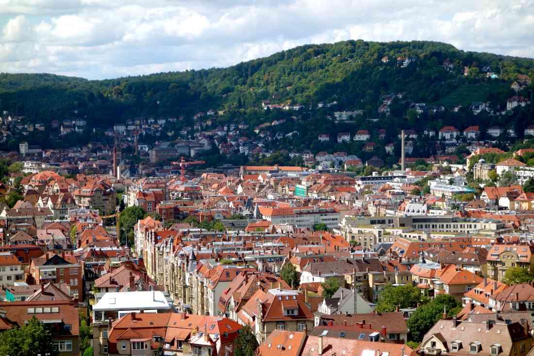 المناطق السياحية في شتوتغارت ألمانيا