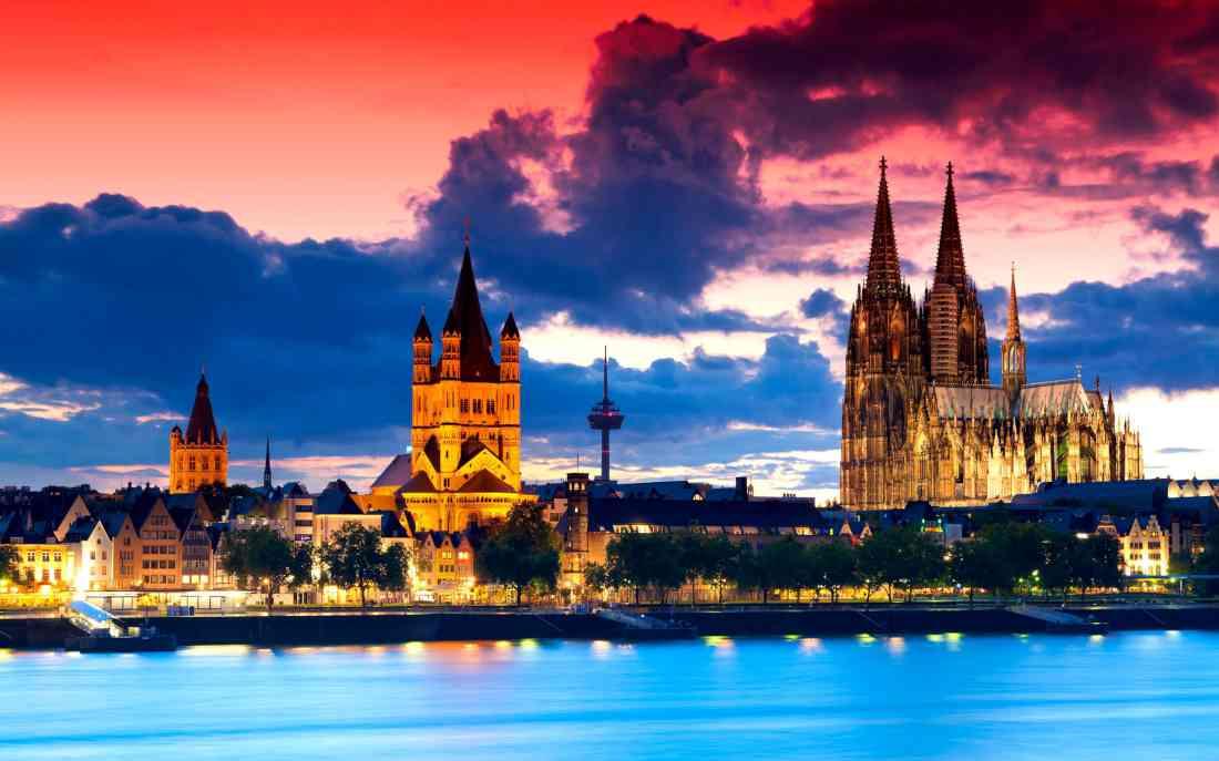السياحة في كولونيا ألمانيا