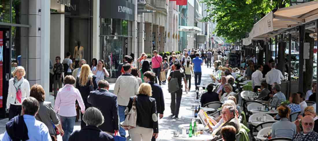 شارع الملوك في دوسلدورف