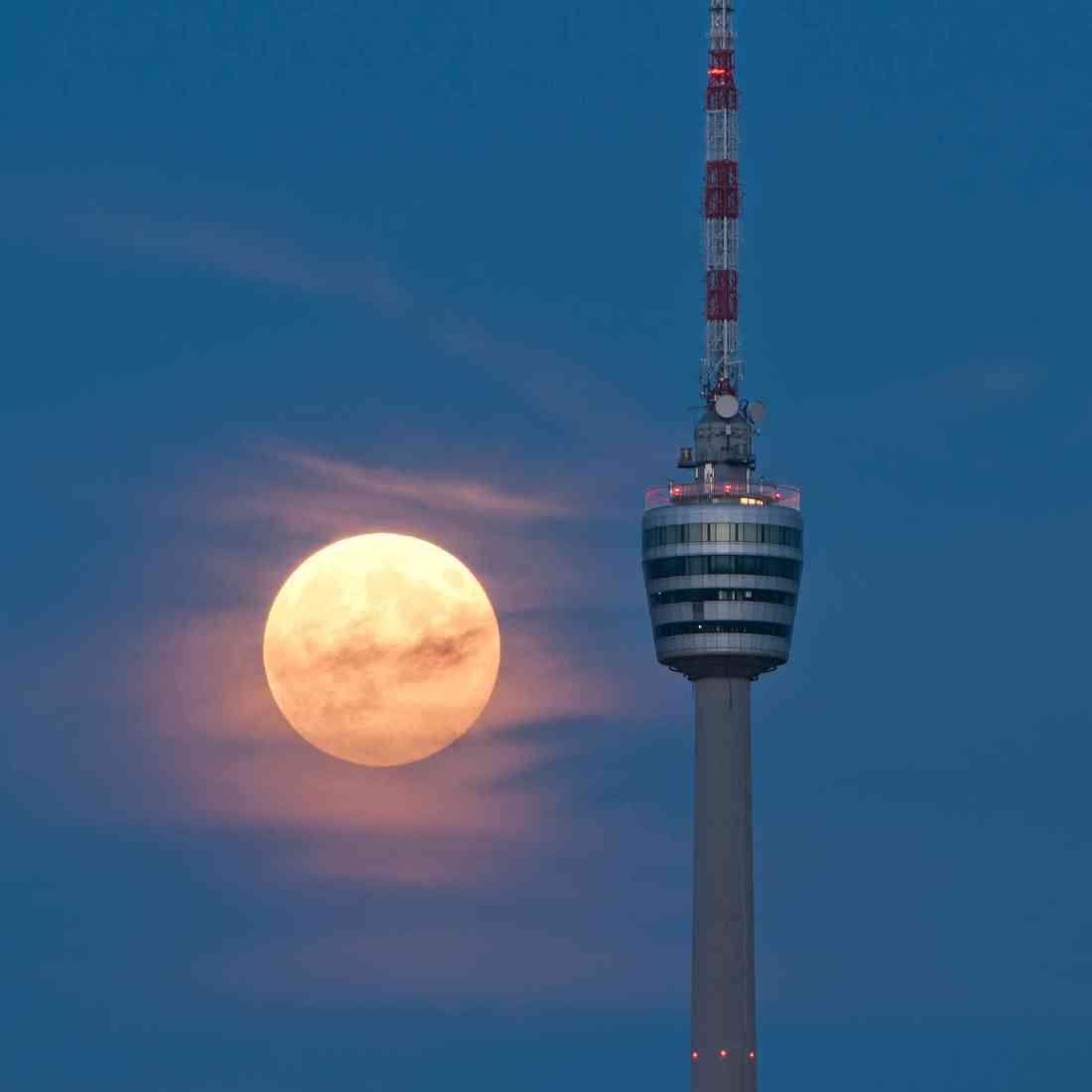 برج التلفزيون في شتوتغارت