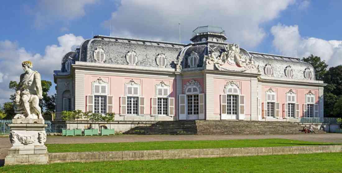 قصر شلوس بنراث دوسلدورف