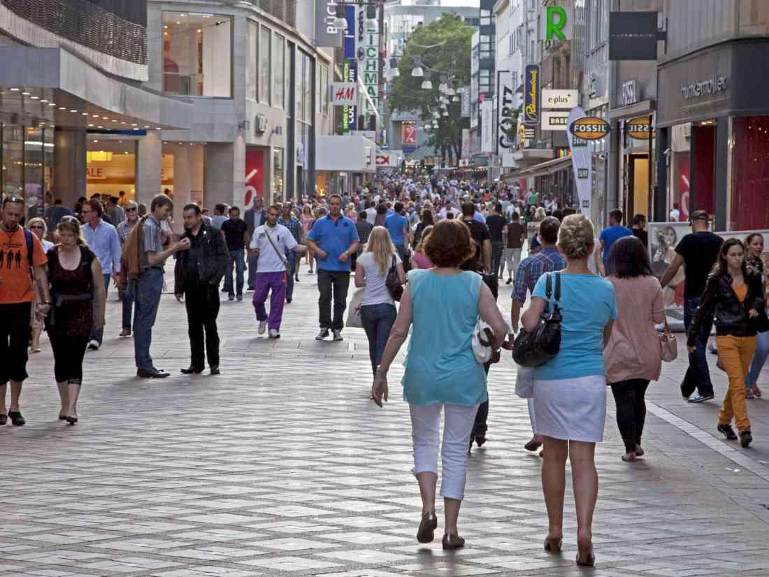 التسوق في دورتموند