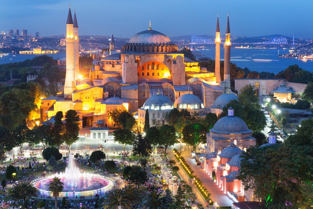 مسجد آيا صوفيا في اسطنبول