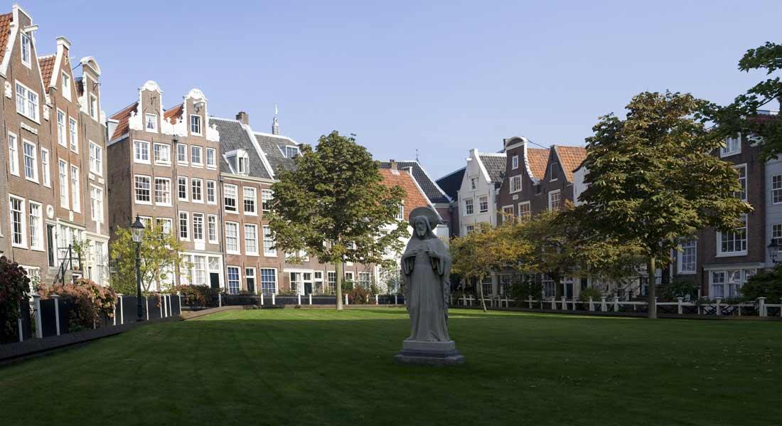 البغيجنهوف أو الفناء الخفي في أمستردام.