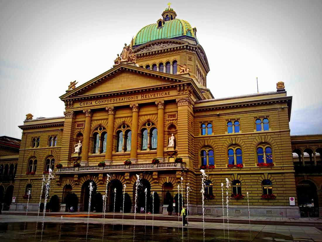 مبنى البرلمان السويسري