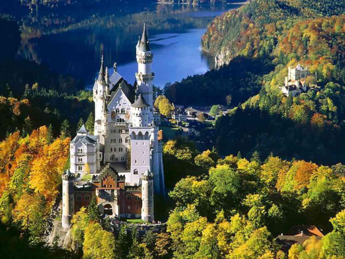 قصر نويشفانشتاين ألمانيا ميونخ