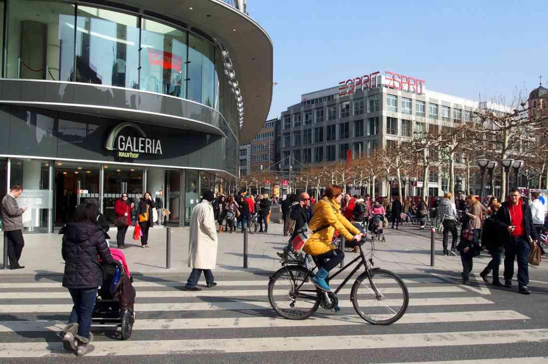 التسوق في فرانكفورت