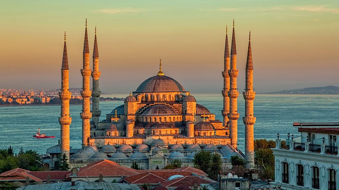 مسجد السلطان أحمد في اسطنبول