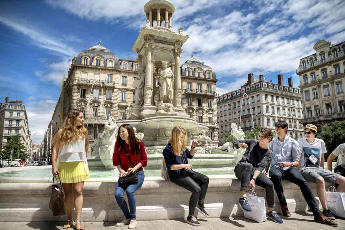 أماكن السياحة في ليون وسط المدينة