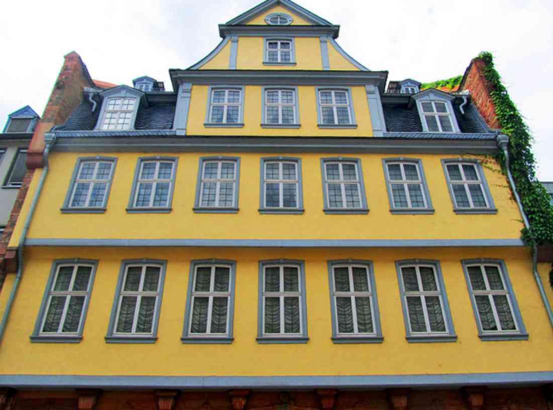 بيت ومتحف جوته فرانكفورت