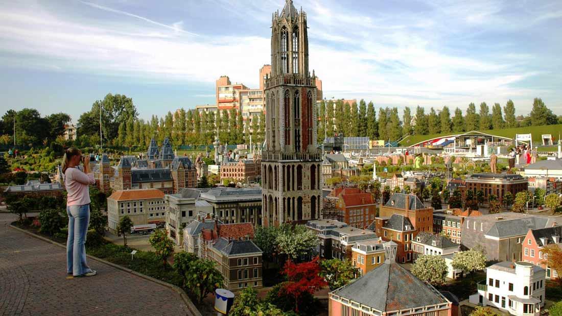 هولندا الصغرى في أمستردام.
