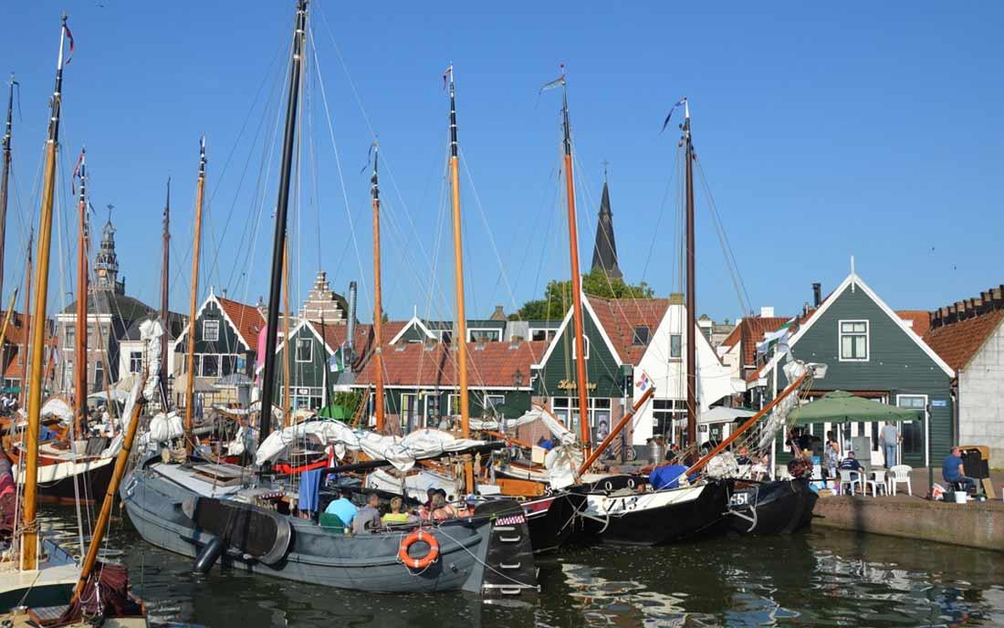 قرية ماركن في أمستردام.