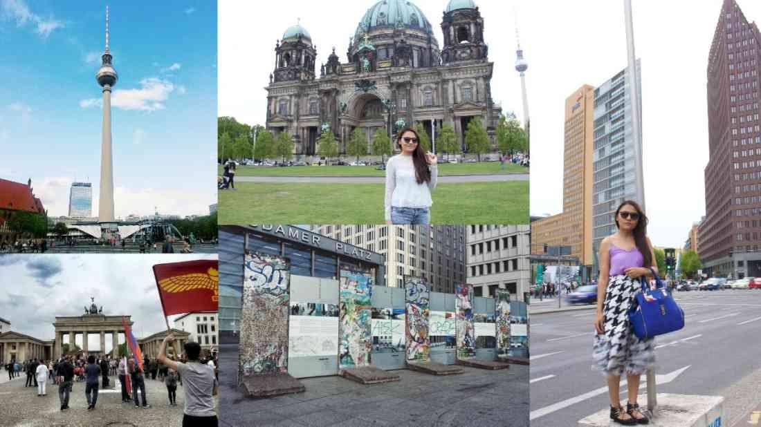 السياحة في برلين كولاج