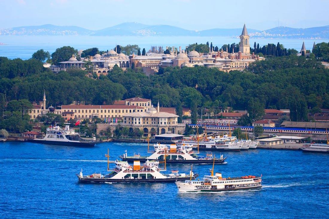 قصر الباب العالي أو توكابي في تركيا