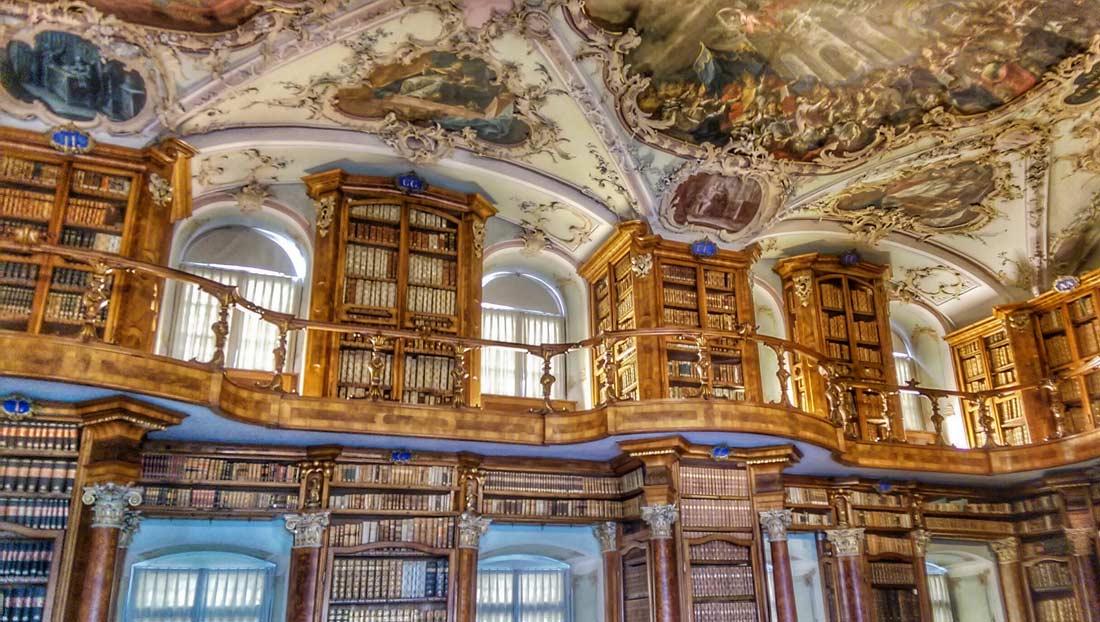 مكتبة آبي في سانت غالن