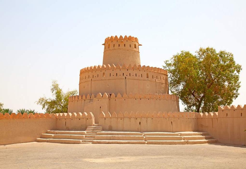 قلعة الجاهلي الإمارات العربية المتحدة.
