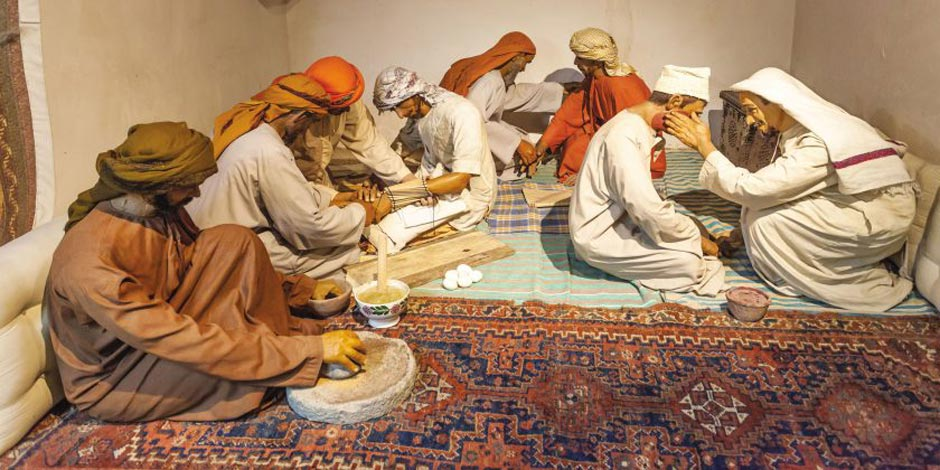 متحف عجمان بالإمارات.