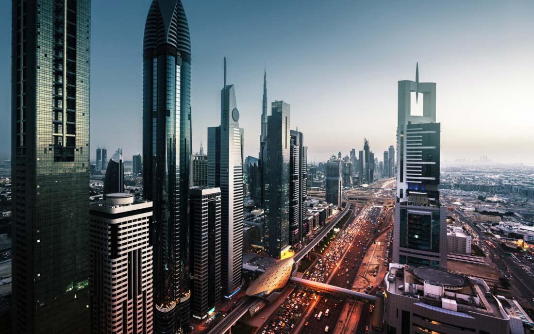 مدينة دبي.