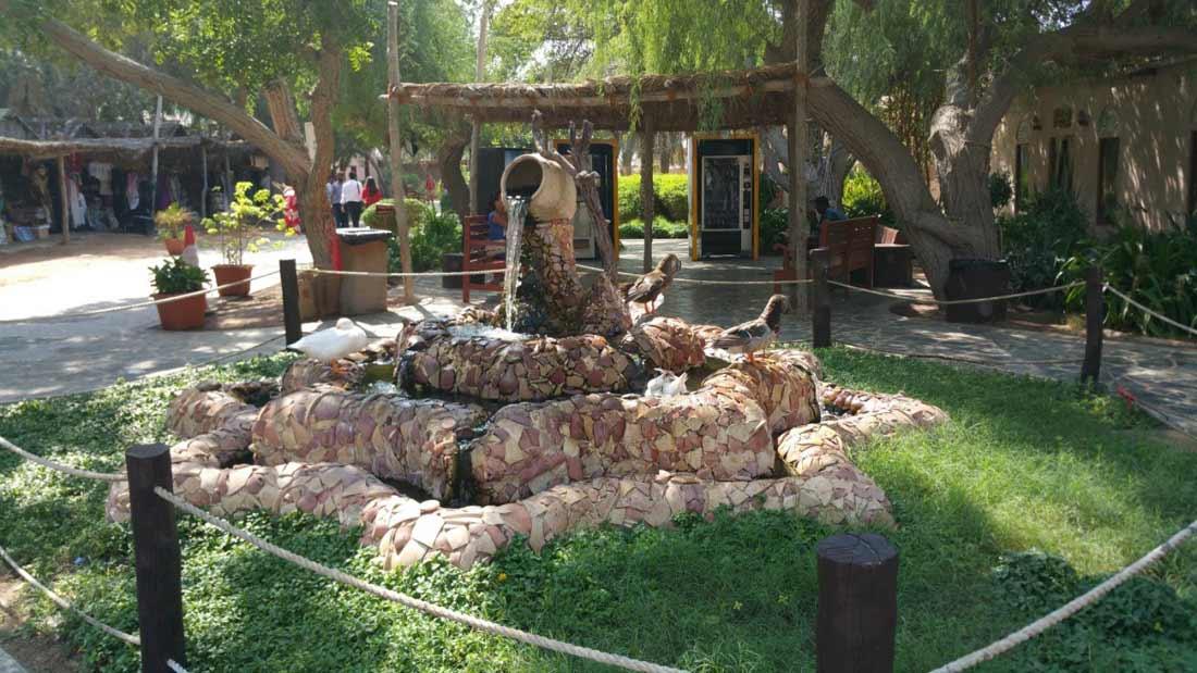 القرية التراثية في أبو ظبي.