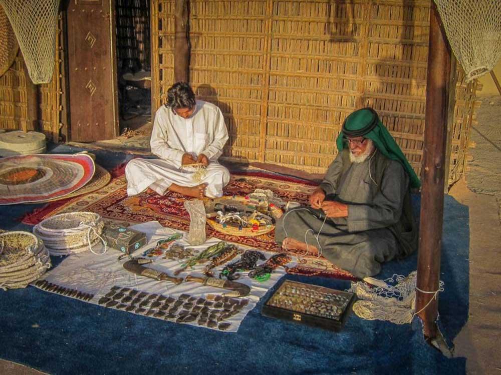 قرية التراث والغوص في دبي.