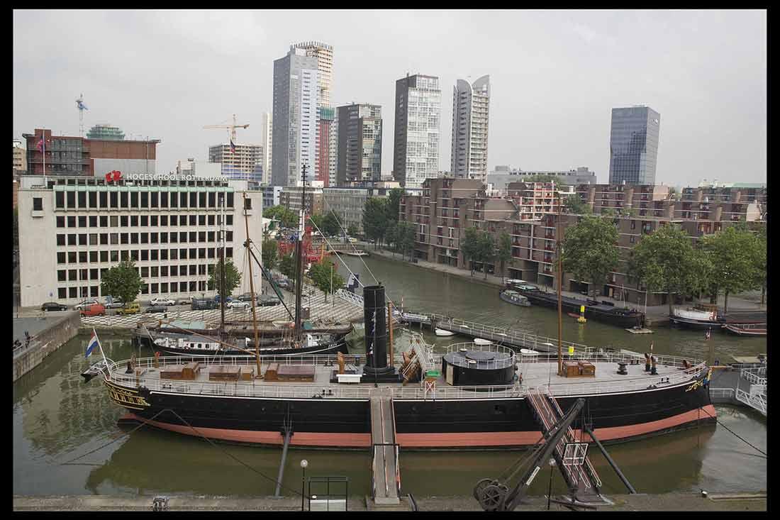 المتحف البحري في روتردام.