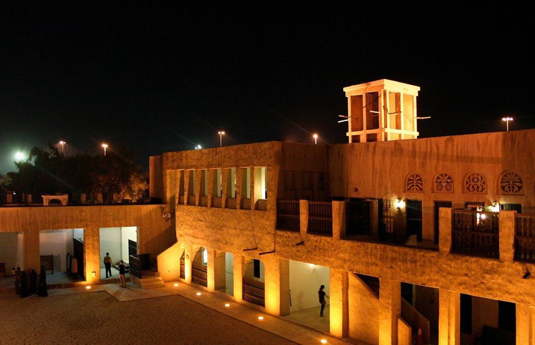 بيت الشيخ سعيد آل مكتوم في دبي.