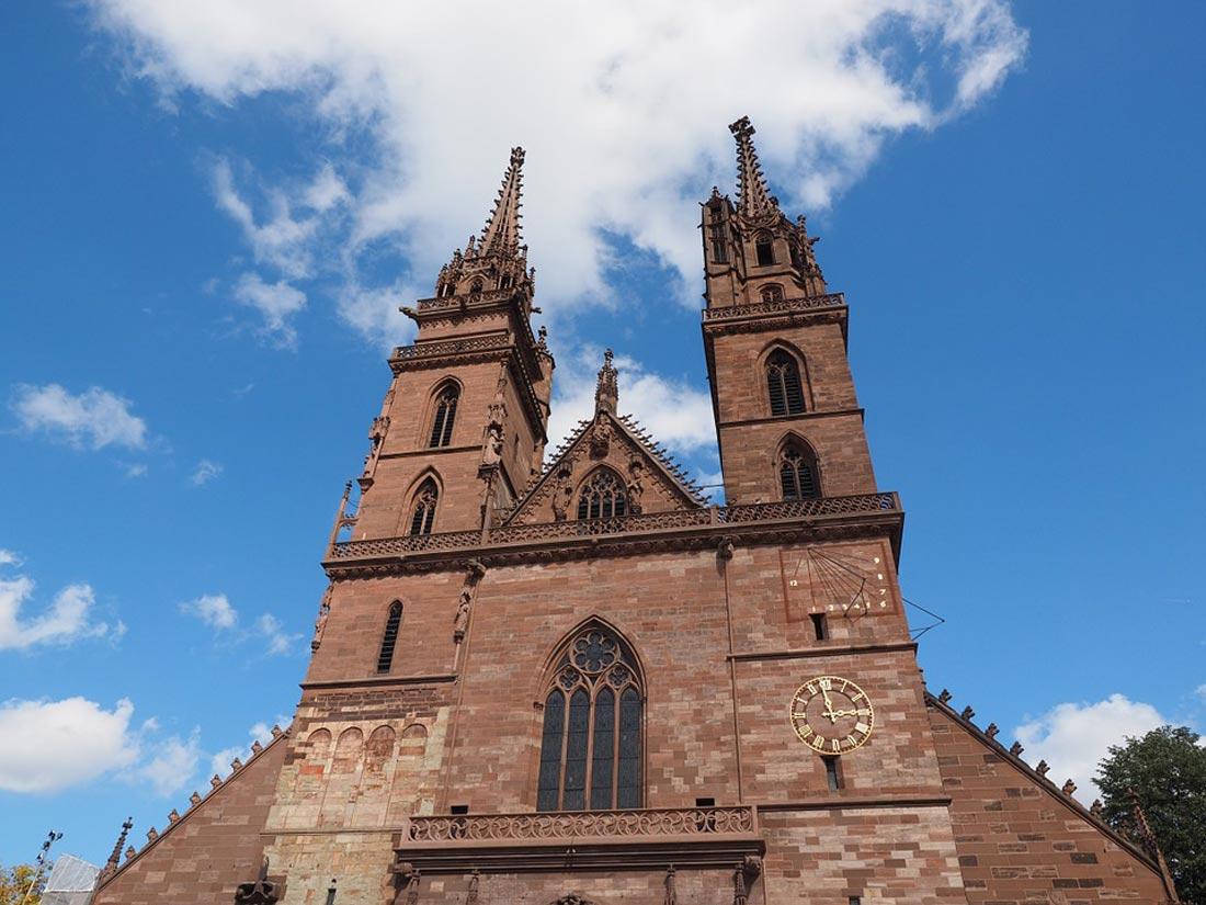 كاتدرائية بازل التاريخية.