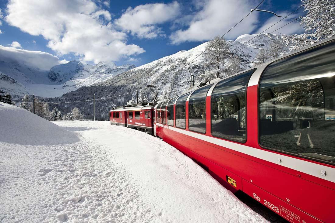 السكك الحديدية الجبلية سانت موريتز