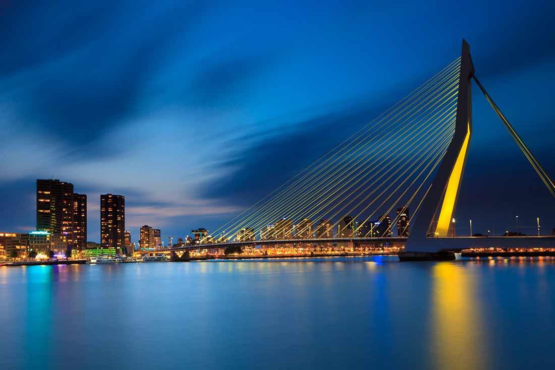 جسر إيراسموس روتردام