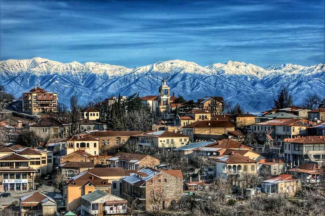 السياحة في تيلافي جورجيا
