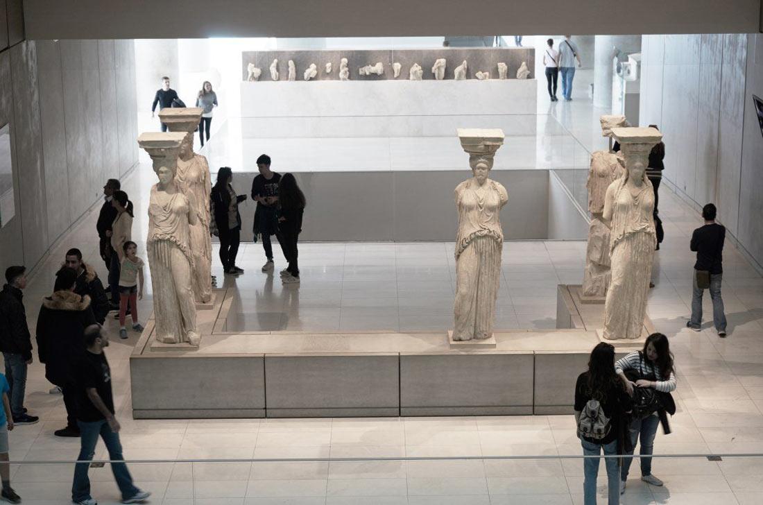 متحف الأكروبول في أثينا.