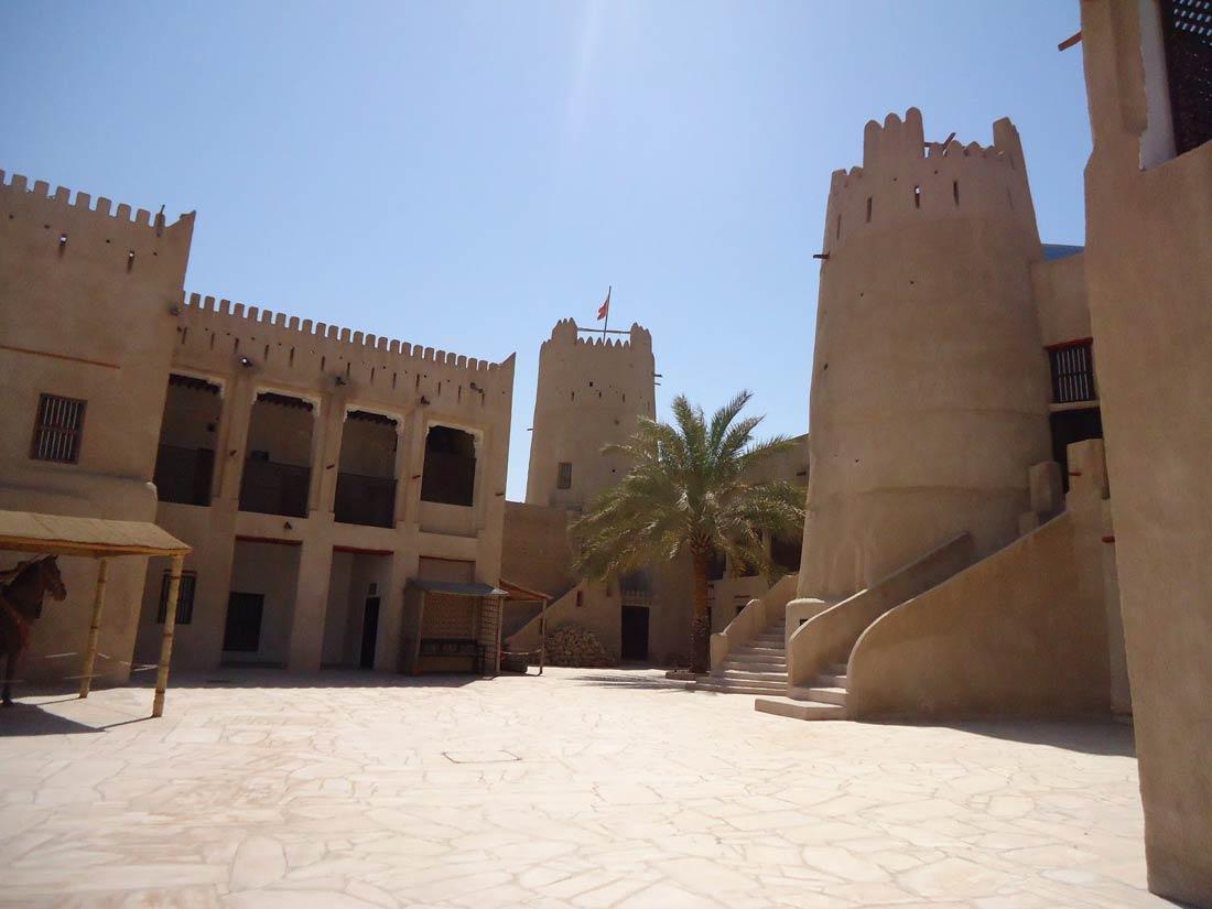 قلعة عجمان.