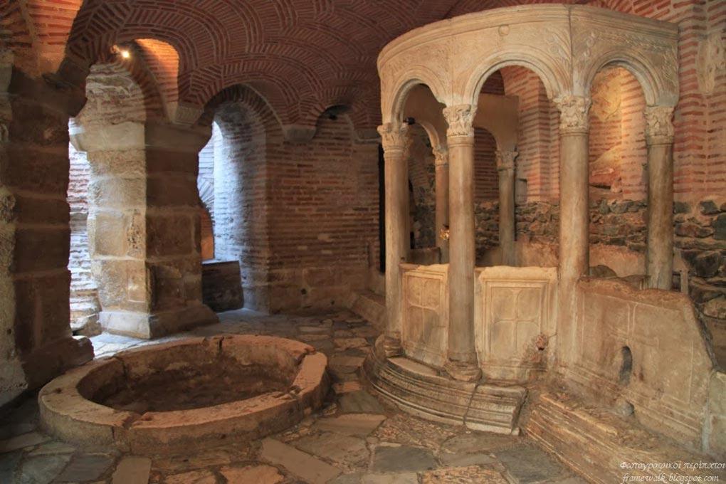 الحمام البيزنطي في سالونيك.