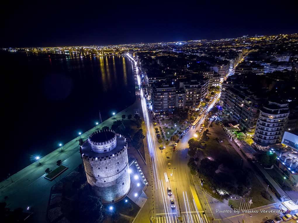 مدينة سالونيك اليونانية.