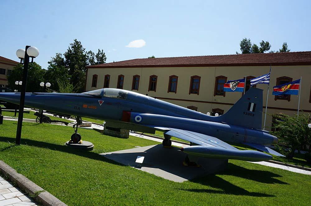 متحف الحرب في مدينة سالونيك اليونانية.
