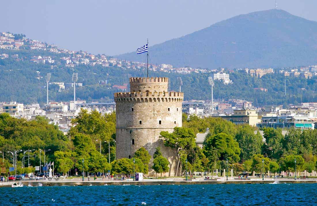 البرج الأبيض في مدينة سالونيك.