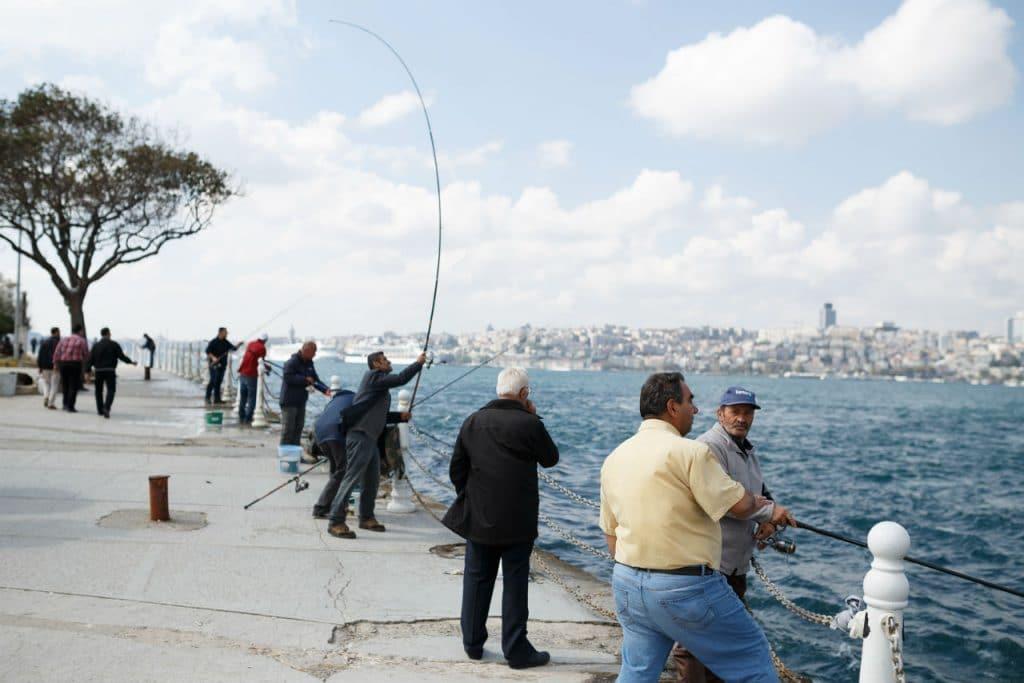 الصيد في اسطنبول