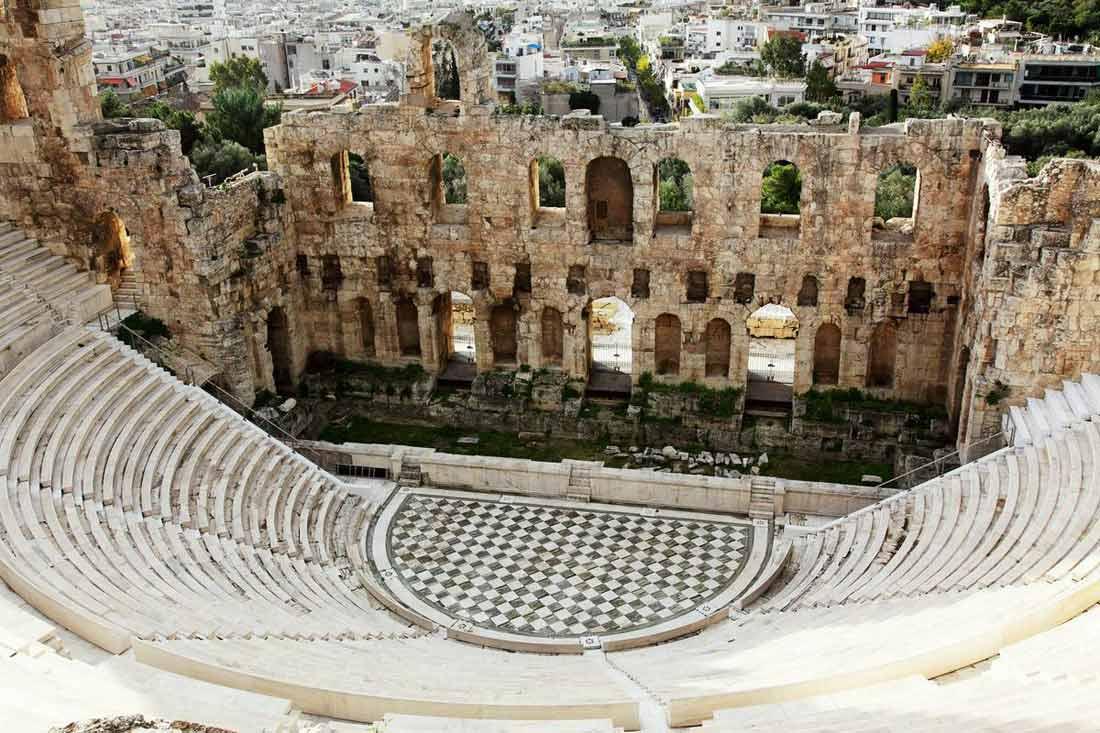مسرح هيردوس أتيكوس.