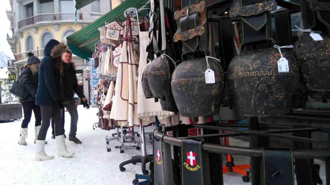 التسوق في شامونيه