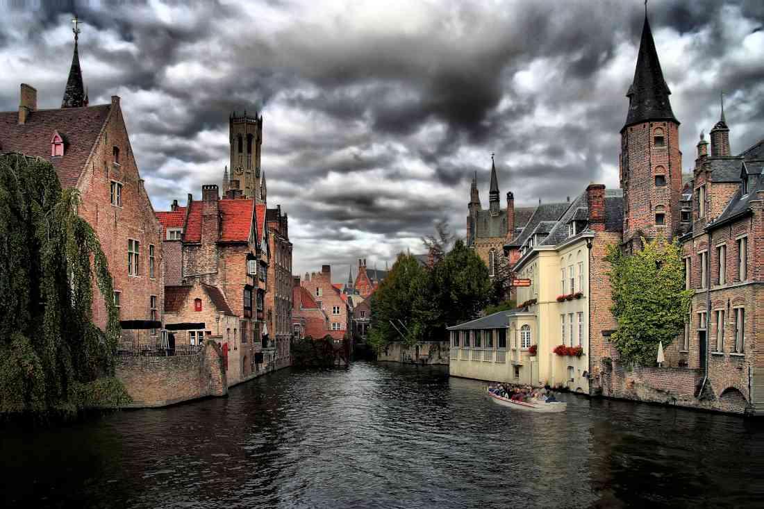 السياحة في بروج البلجيكية