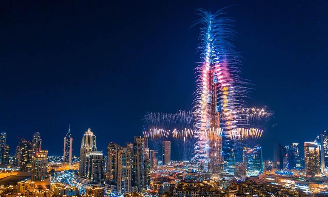 برج خليفة دبي الإمارات العربية المتحدة
