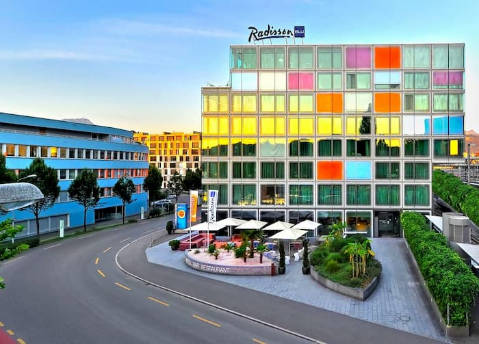 فندق راديسون بلو لوتزيرن – 5 نجوم