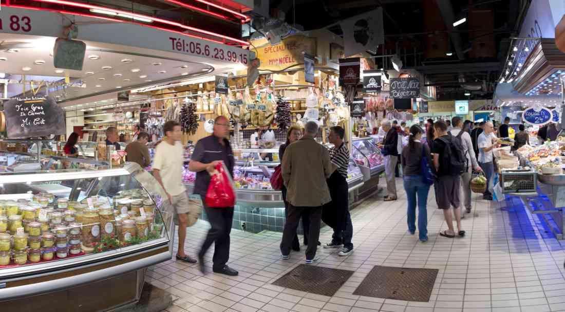 سوق فيكتور هوجو تولوز فرنسا