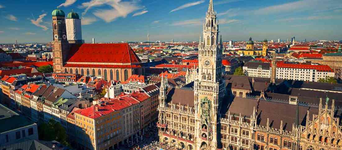 الأماكن السياحية في ميونخ