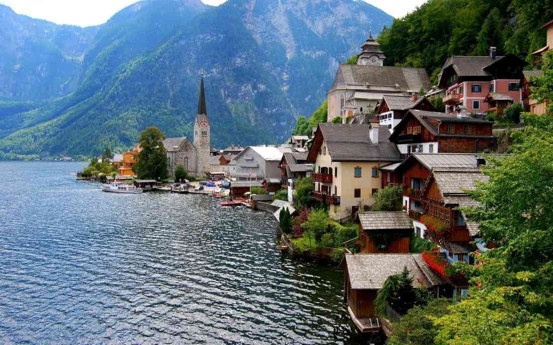 أماكن السياحة في النمسا