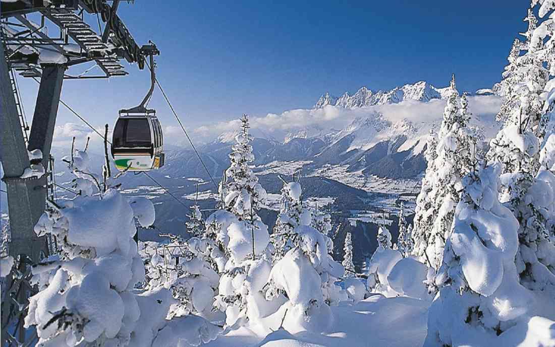 تلفريك السياحة في النمسا