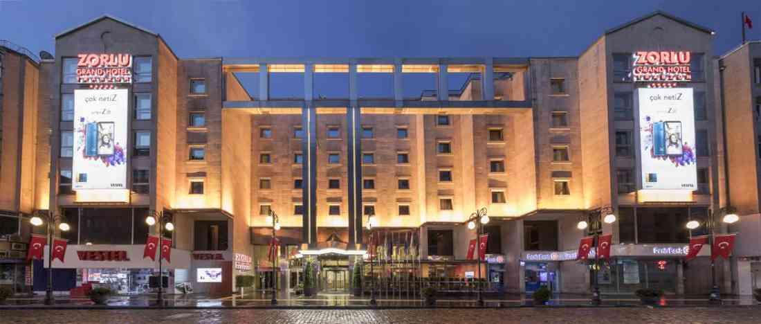 فندق زورلو غراند ترابزون
